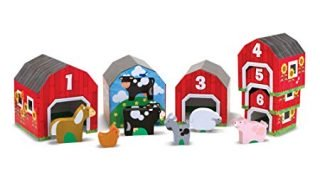 Melissa & Doug Nesting and Sorting Barns and Animals