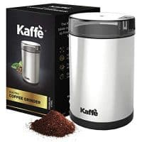 Electric Coffee Grinder by Kaffe - Stainless Steel