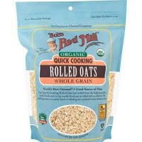 Bob's Red Mill Organic Quick Cooking Rolled Oats, 16 Ounce (Pack of 4)