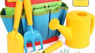 Gardening Tools, 7 Piece Garden tool set for Kids