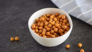 Easy Air Crisp Garbanzo Beans (Ninja Foodi)