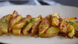 Italian Air Crisp Potatoes (Ninja Foodi)