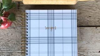 Recipe Journal + Farmhouse Plaid — Heart of the Farm Planner®