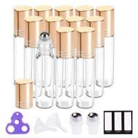 Essential Oil Roller Bottles 10ml Roller Balls for Oils, Roller on Bottles