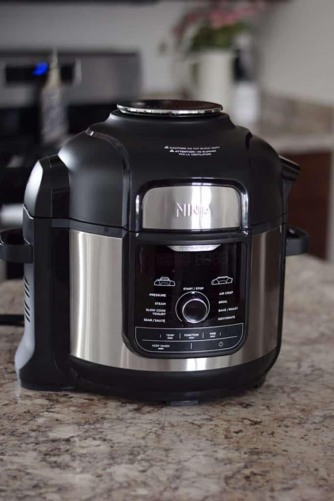 Ninja Foodi appliance on a countertop