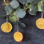 dried oranges for christmas decor