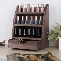 Storage Rack Wooden Display Shelf