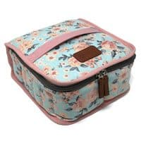 Essential Oil Carrying Case with Plush Velvet