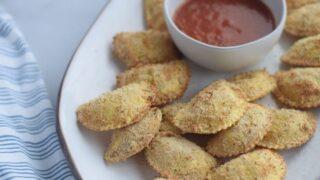 Easy Crispy Ninja Foodi Ravioli