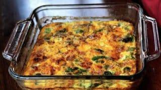 Meal Prep Keto Breakfast Casserole