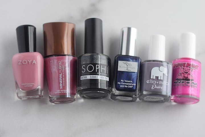 6 of the best non toxic nail polish