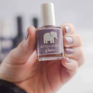 Ella + mila non toxic nail polish