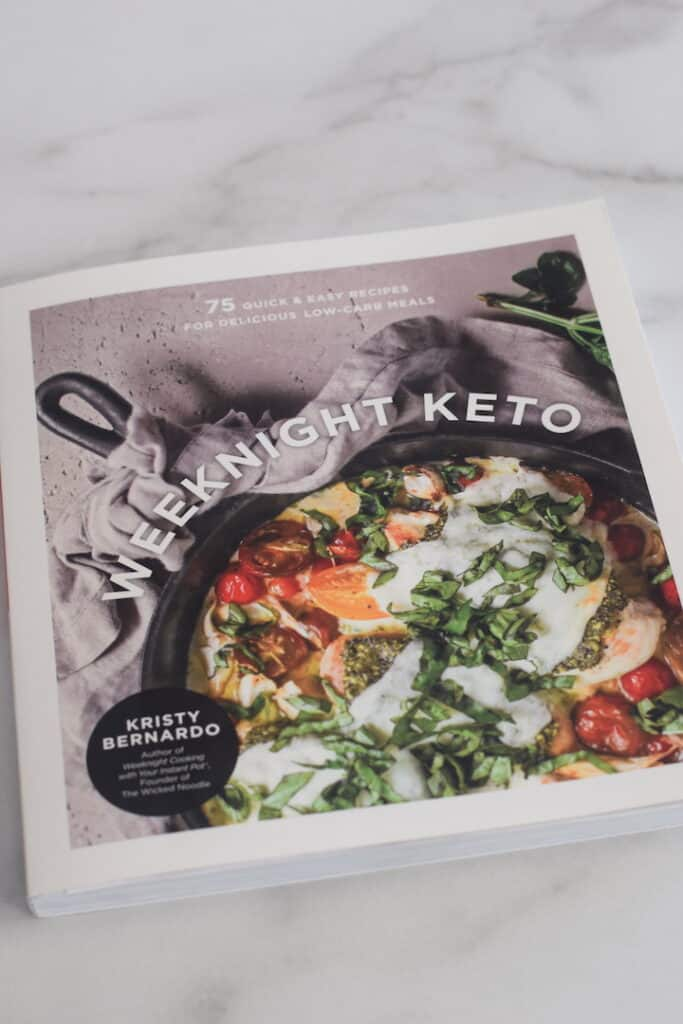 Weeknight Keto cookbook cover