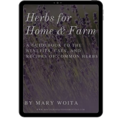 ebook cover of herbs for home & farm