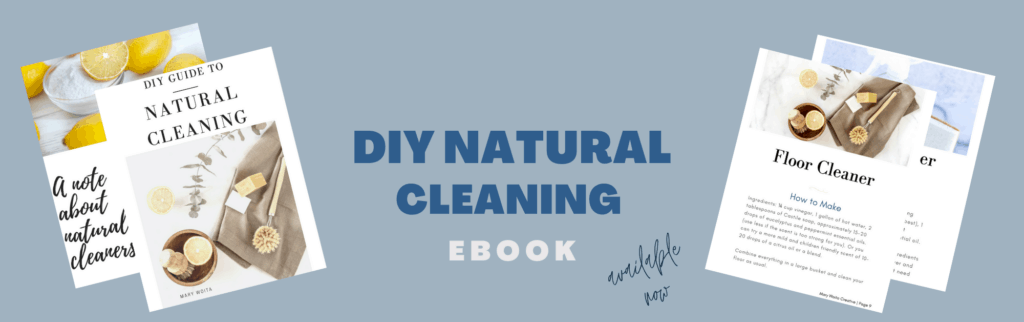 diy natural cleaning ebook banner ad