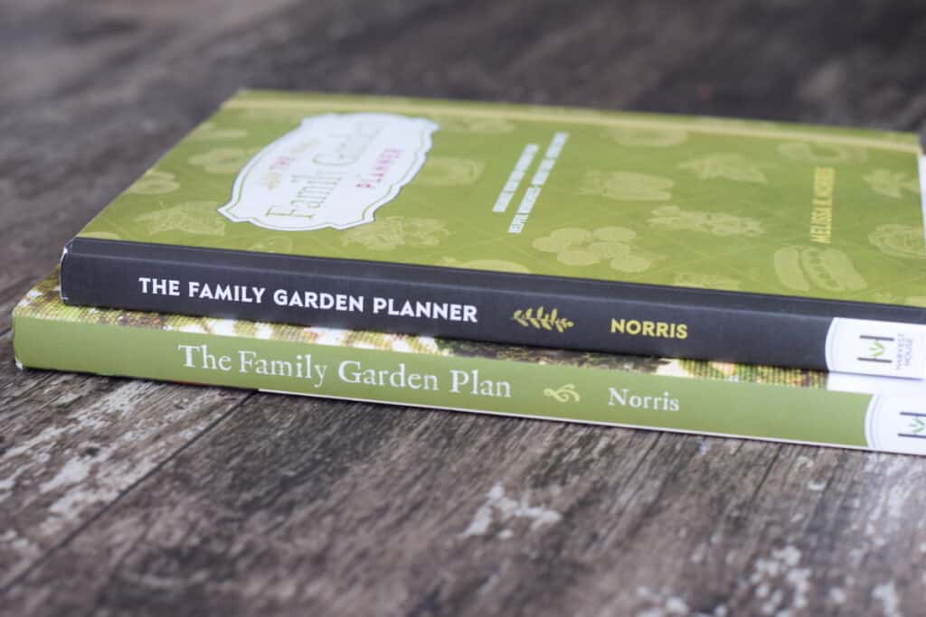 the family garden plan book and planner